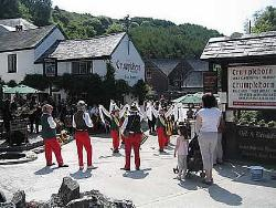 One of the events of the Polperro Arts Festivals being held at the Crumplehorn Inn & Mill